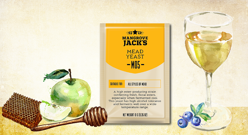 Recipe: Blueberry Apple Melomel
