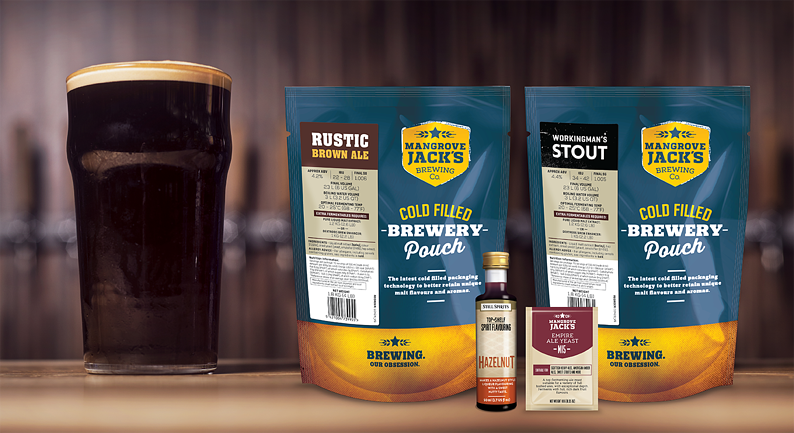 Recipe: Hazelnut Coffee Porter