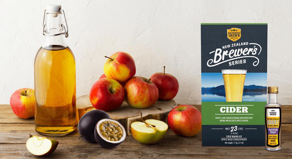 Recipe: Passion Fruit Apple Cider