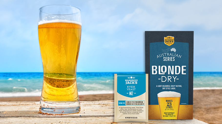 Recipe: West Coast Blonde Ale