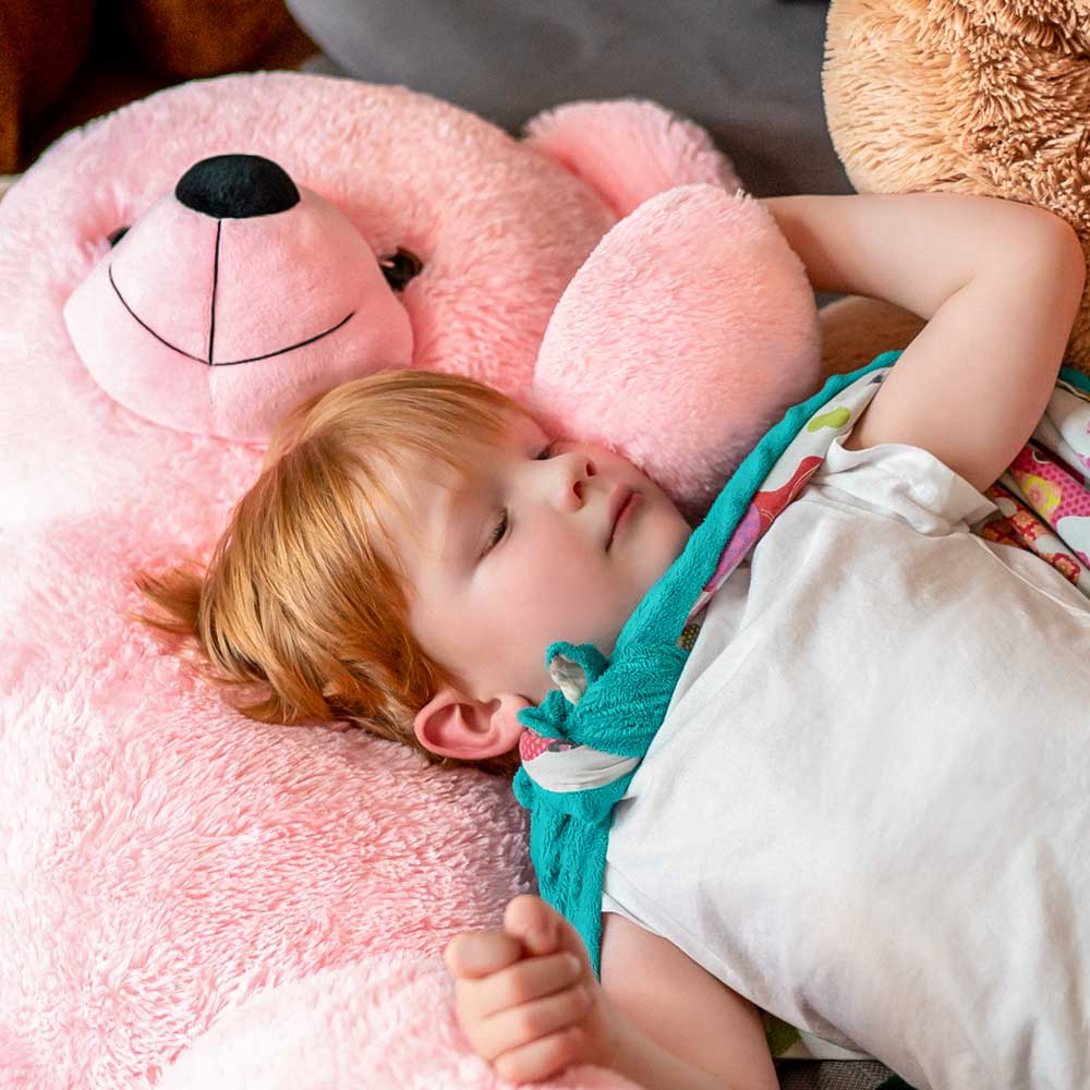 Giant Pink teddy bear 2m