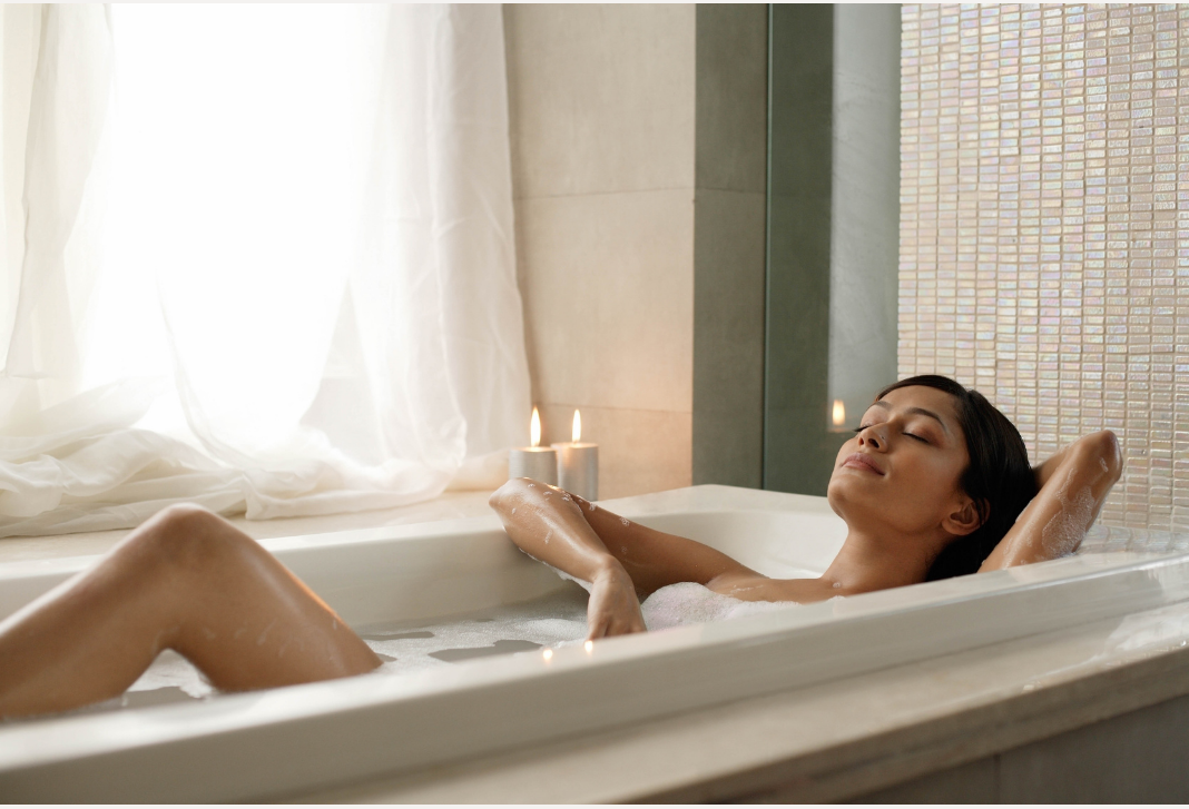 Slow beauty blog post. Bath time.