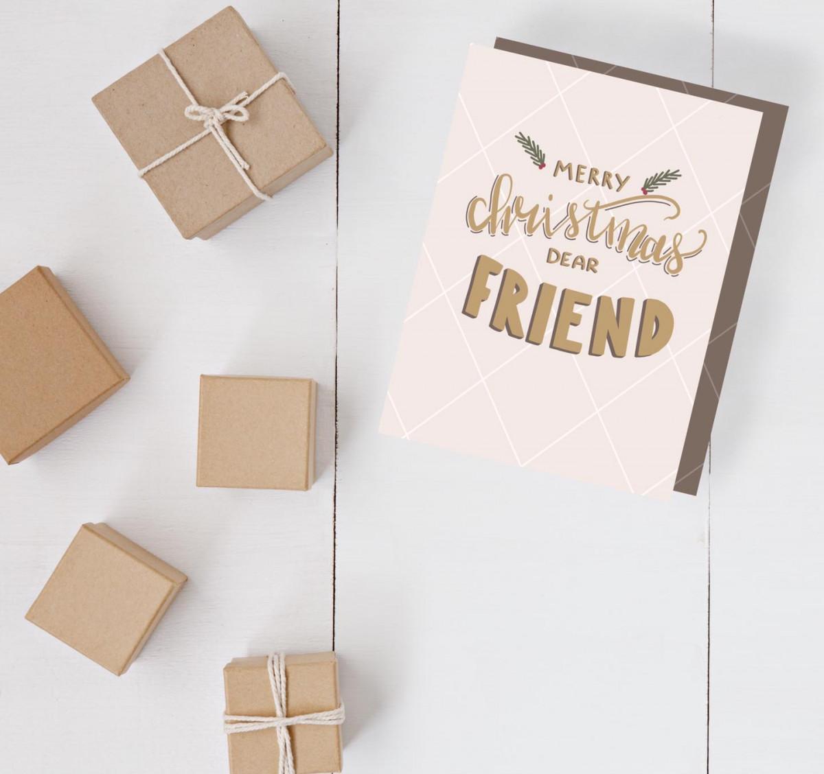 The printable Christmas cards!