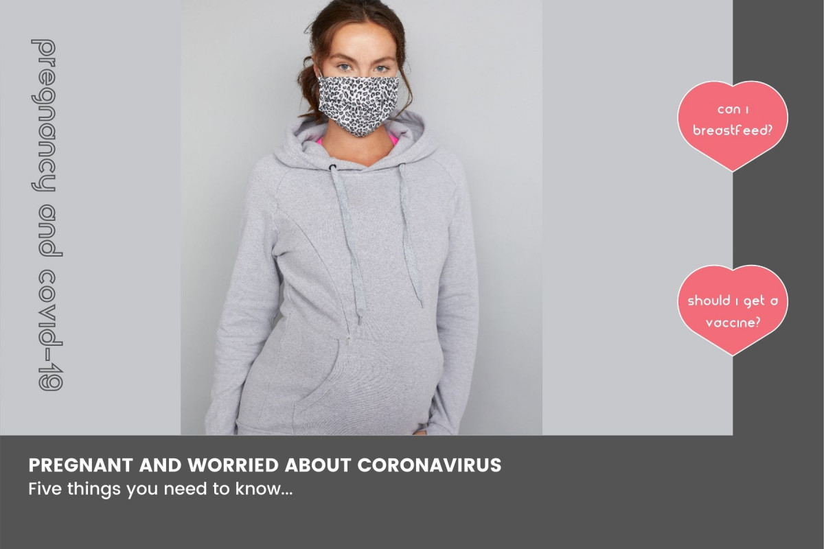 Pregnant and worried about coronavirus? Here's 5 things you need to know...