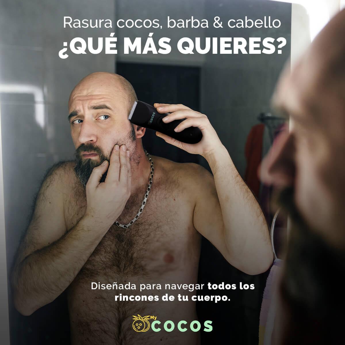 Rasuradora MyCOCOS 2.0 para tu cuerpo y cara