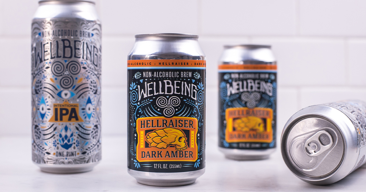 Wellbeing Non Alcoholic Beer