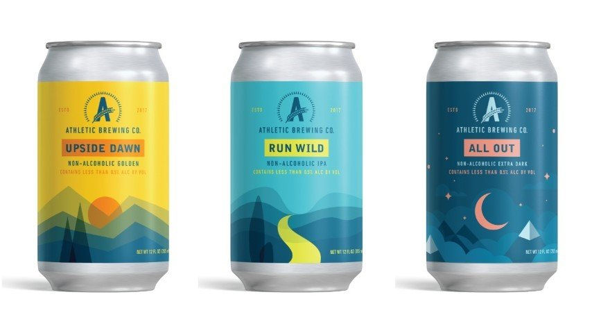 Athletic Brewing Company Beer Cans