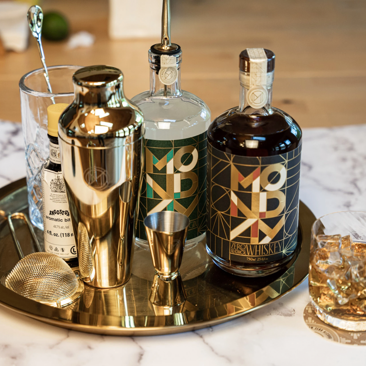 monday gin non alcoholic spirit