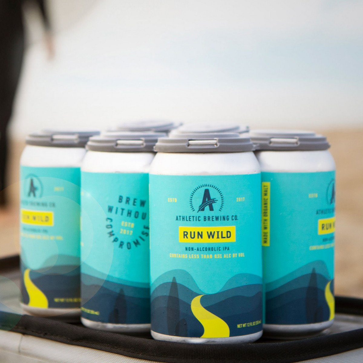 athletic brewing co NA beer