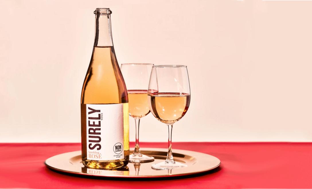 surely non alcoholic rose wine