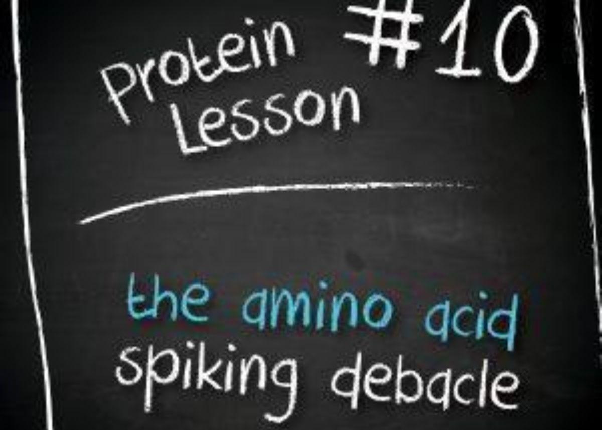 The Amino Acid Spiking Debacle