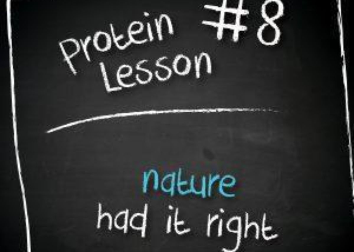 Milk Protein Isolate stands apart   Nature had it right