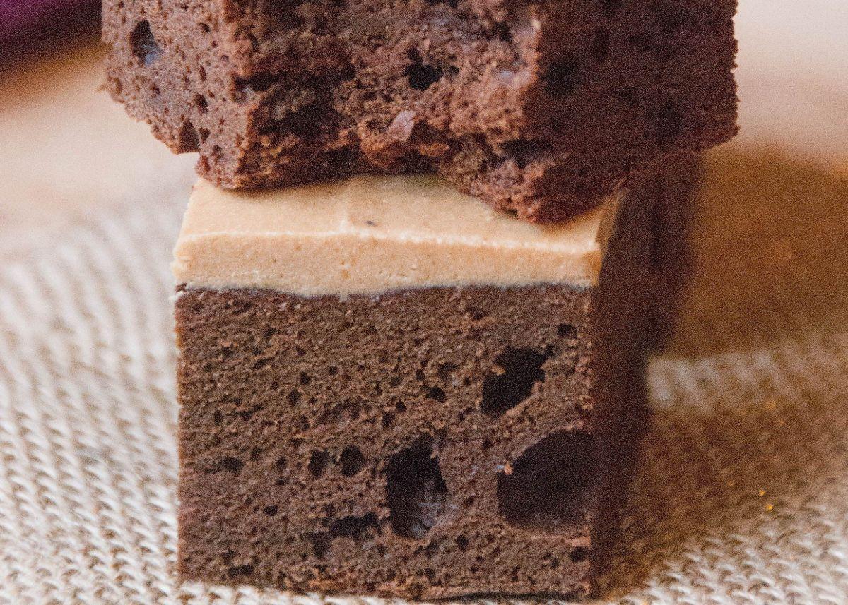Peanut Butter Protein Brownie Bites