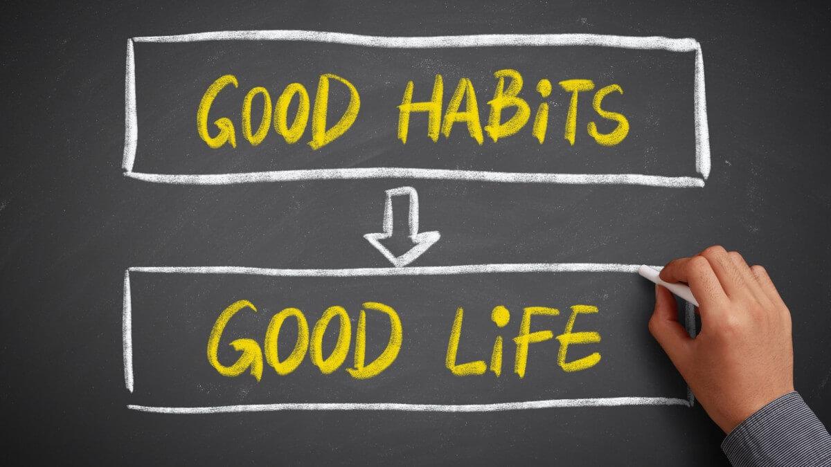 Il lato positivo delle abitudini