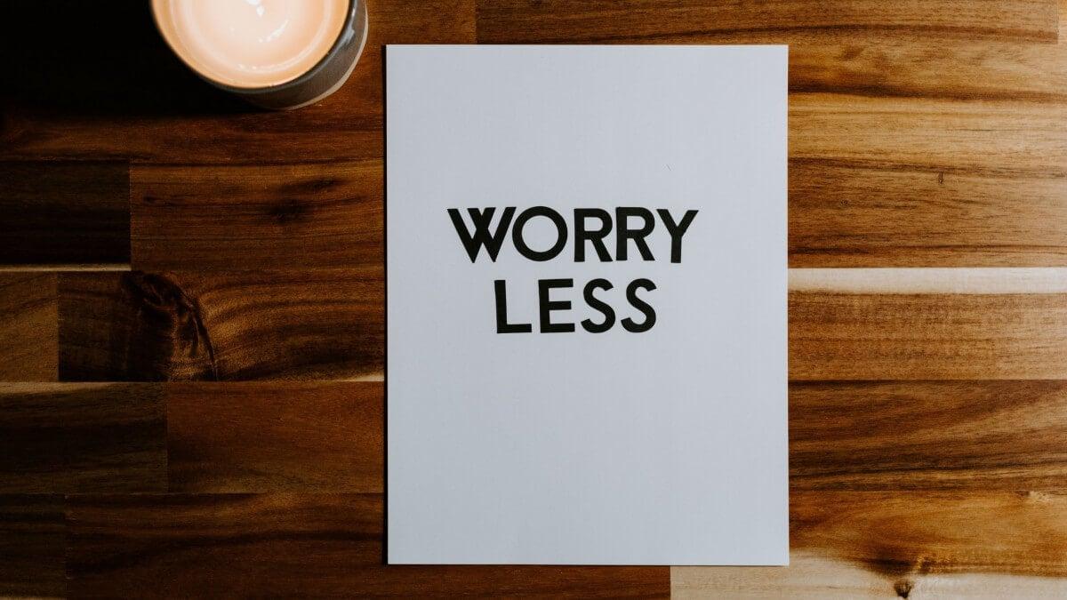 Quando la preoccupazione fa perdere la concentrazione