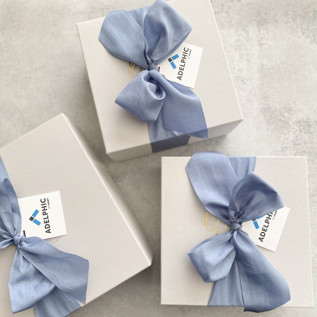 Corporate Gift Box with Custom Gift Tag