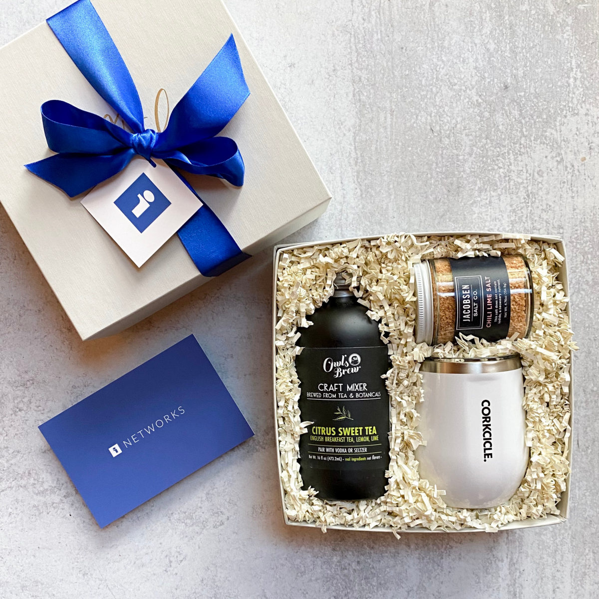 Corporate Gift Boxes For Clients- ITN Networks Cocktail
