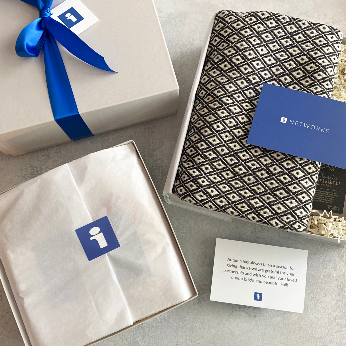 Corporate Gift Boxes For Clients- ITN Networks Fall