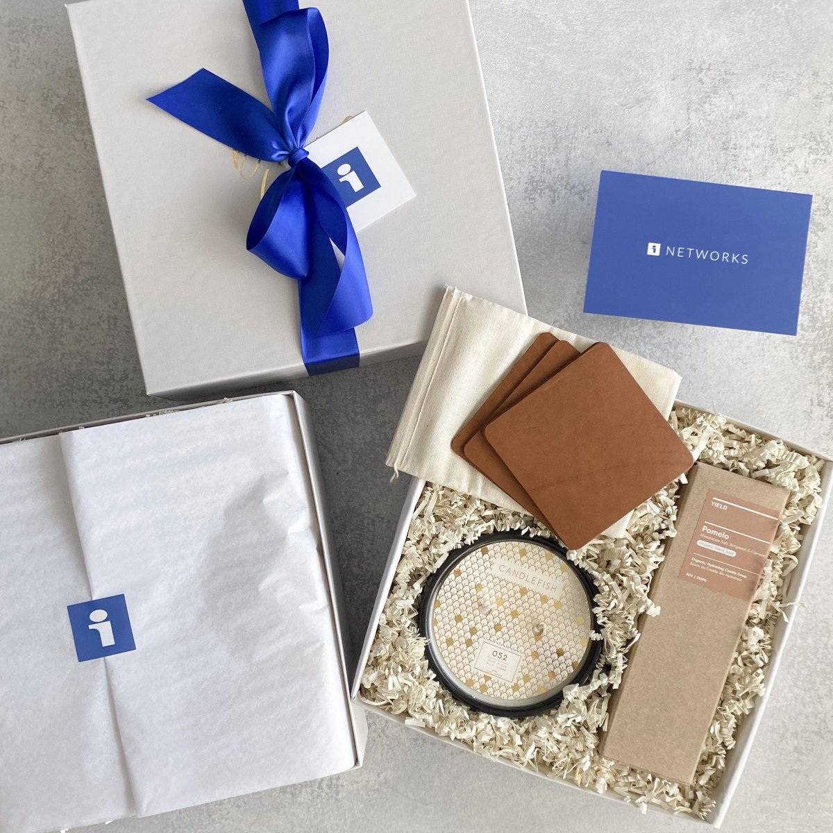 Hand Packed Corporate Gift Boxes
