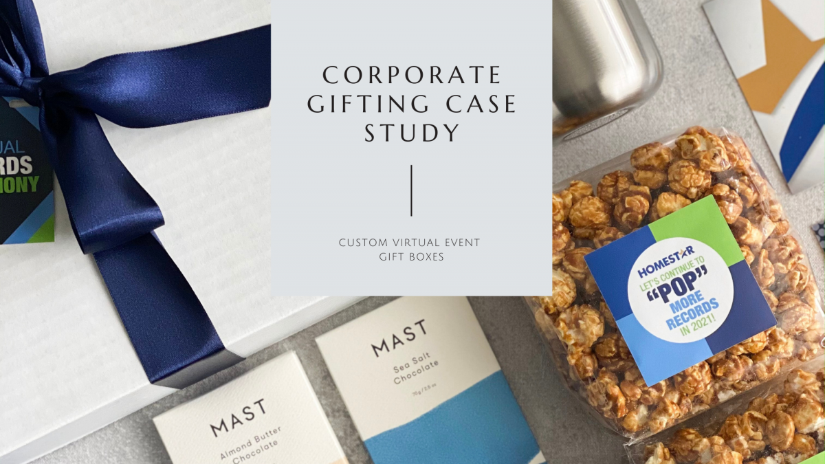 Custom Virtual Event Gift Boxes