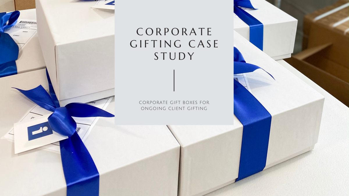 Corporate Gift Boxes for Ongoing Client Gifting