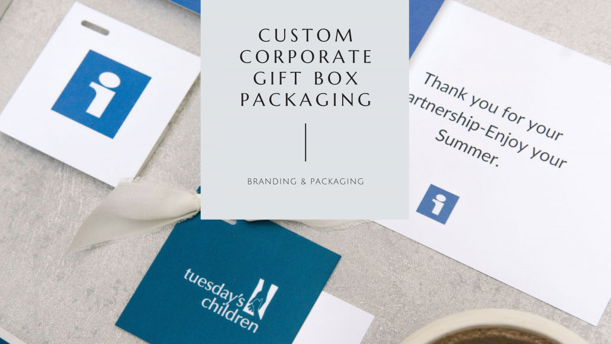 Custom Corporate Gift Box Packaging