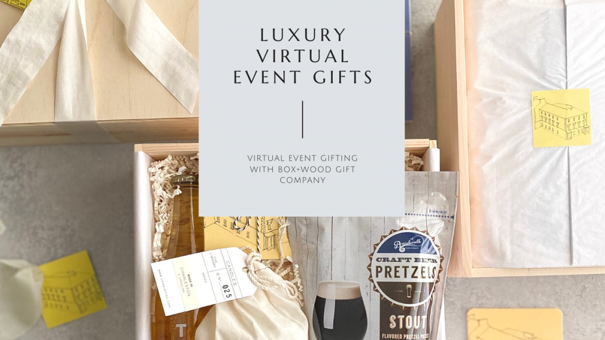 Luxury Virtual Event Gift Boxes