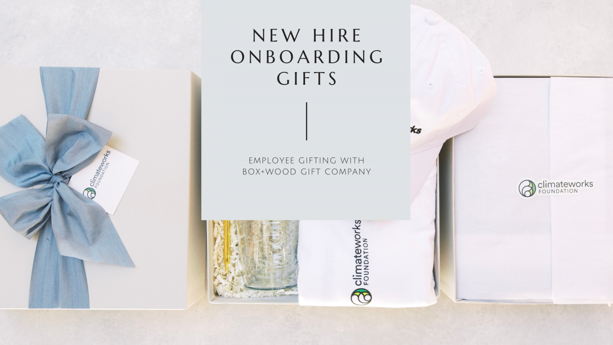 Employee Onboarding Gifts with Box+Wood Gift Company