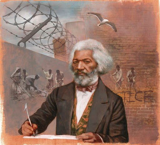 Frederick Douglass:  Escaped Slave, Author, & Public Speaker