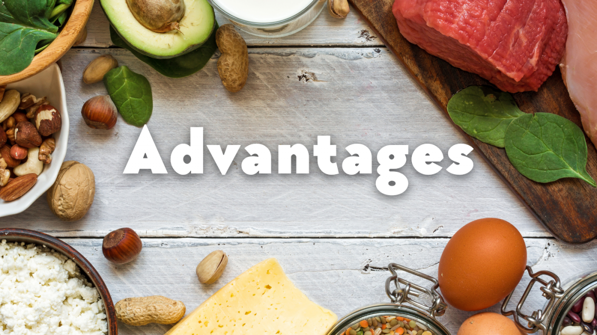 Advantages of a high protein diet