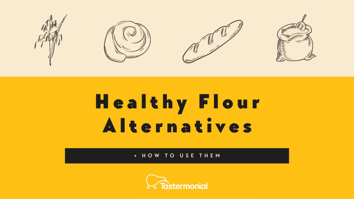 Healthy Flour Alternatives + How to Use Them