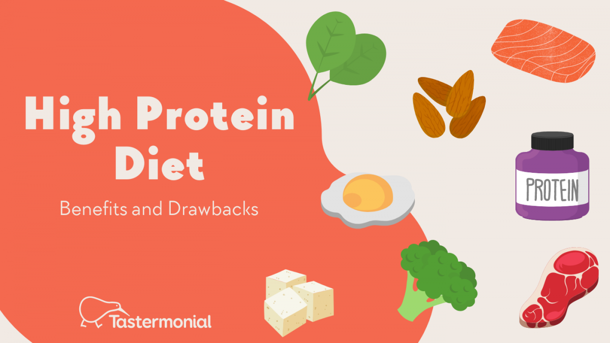 High Protein Diet Benefits and Drawbacks