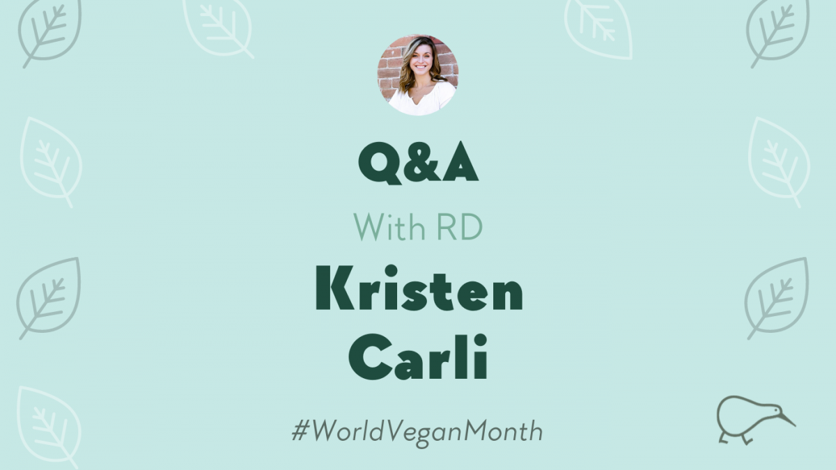 Plant-Based Nutrition with Kristen Carli, RD