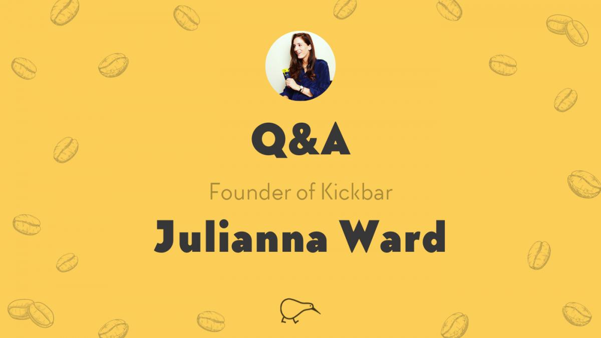 Caffeine on-the-go with Kickbar Founder Julianna Ward