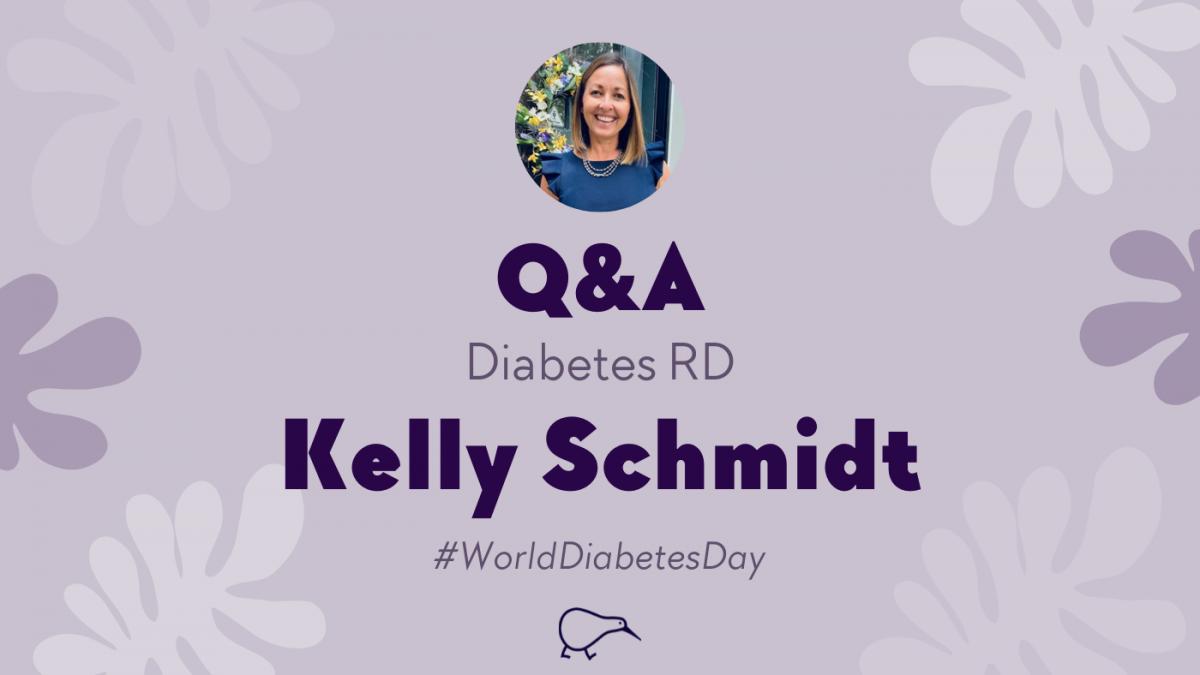 Celebrating Diabetes Awareness Month with diabetes educator Kelly Schmidt, RD