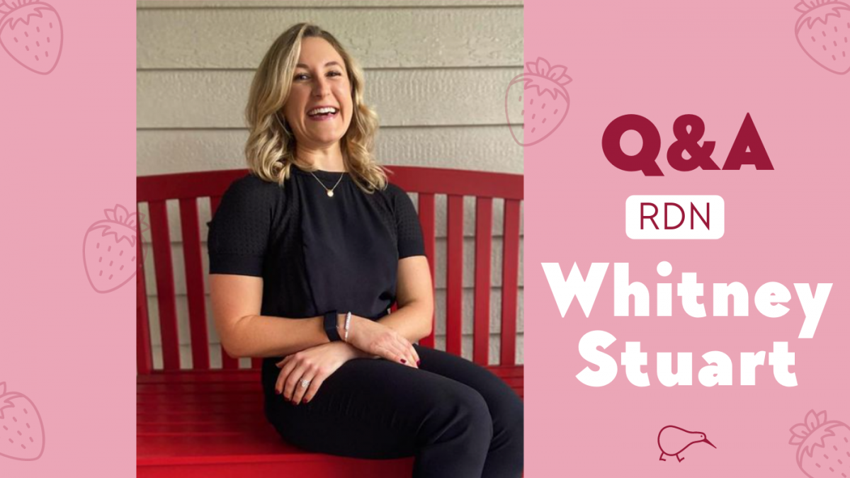 Q&A with RDN and Diabetes Educator, Whitney Stuart
