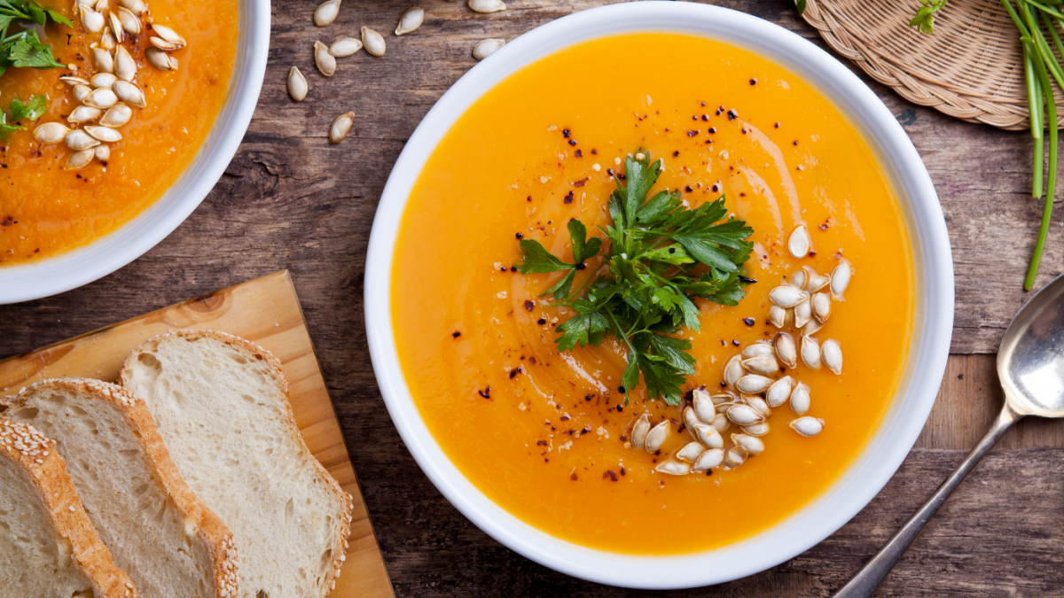 Creamy & Delicious LOW FODMAP Soup for Fall