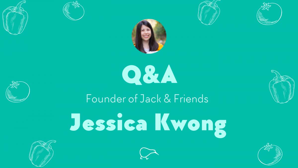 Talkin' Jerky with Jack & Friends plant based jerky founder, Jessica Kwong