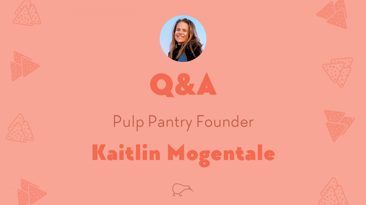 Q&A with Kaitlin Mongentale, founder of Pulp Pantry veggie chips