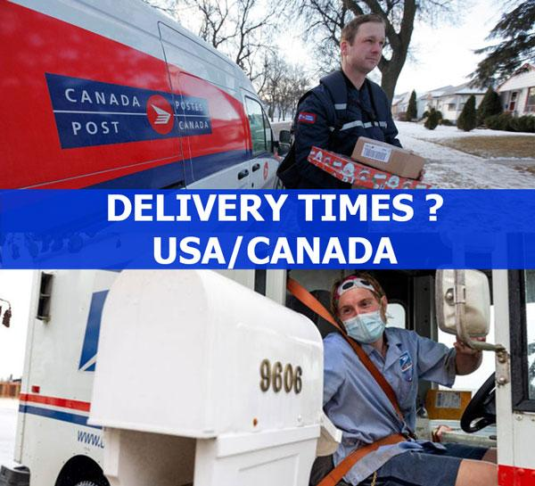 Delivery Times USA-Canada