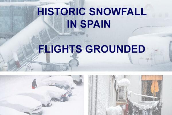 Historic Snowfall - Delivery Delays