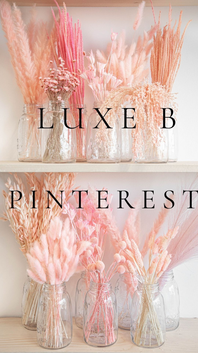 Pinterest Dried Floral Inspiration, Check it Out
