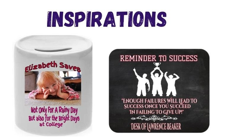 Gifts that Inspire including Mousepad about Success