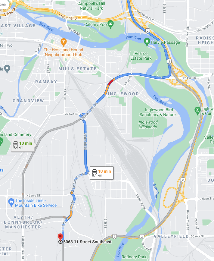 How to Get to the NEW AQ Outdoors Calgary!