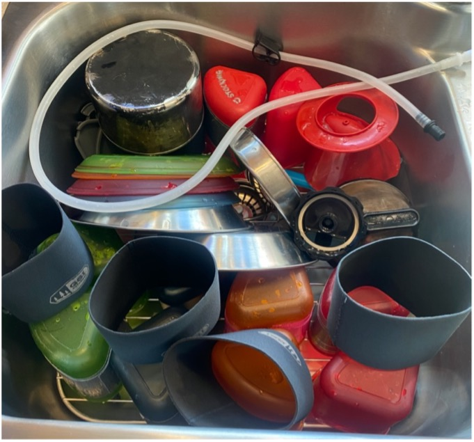 multi day sup cookware