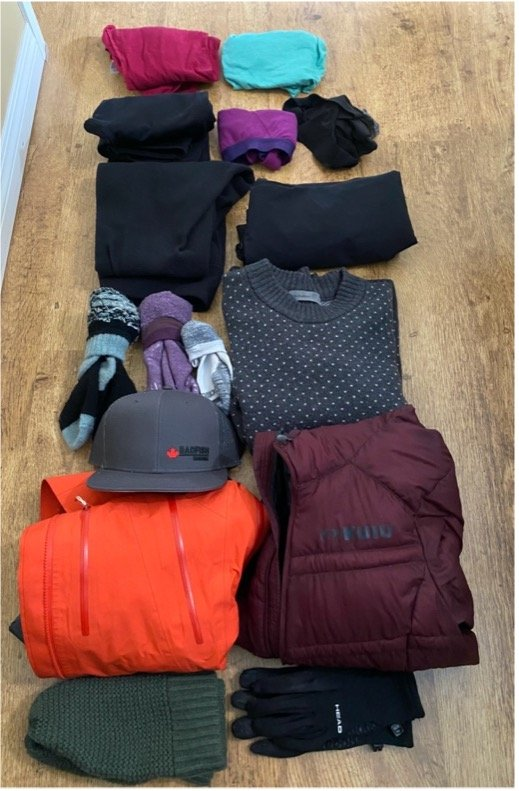 multi day sup clothes