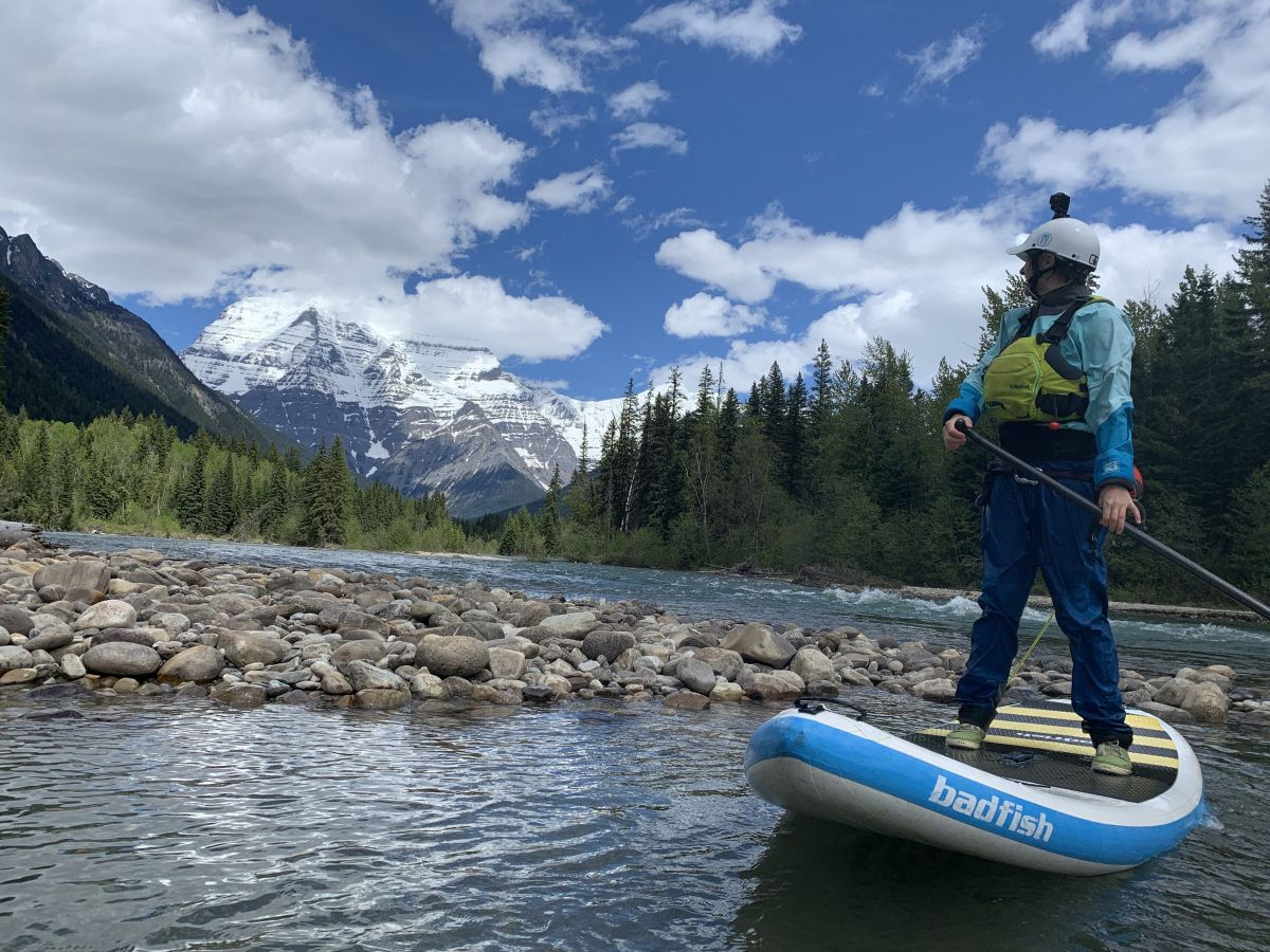 Where to Paddle Around Mount Robson: A Trip Report