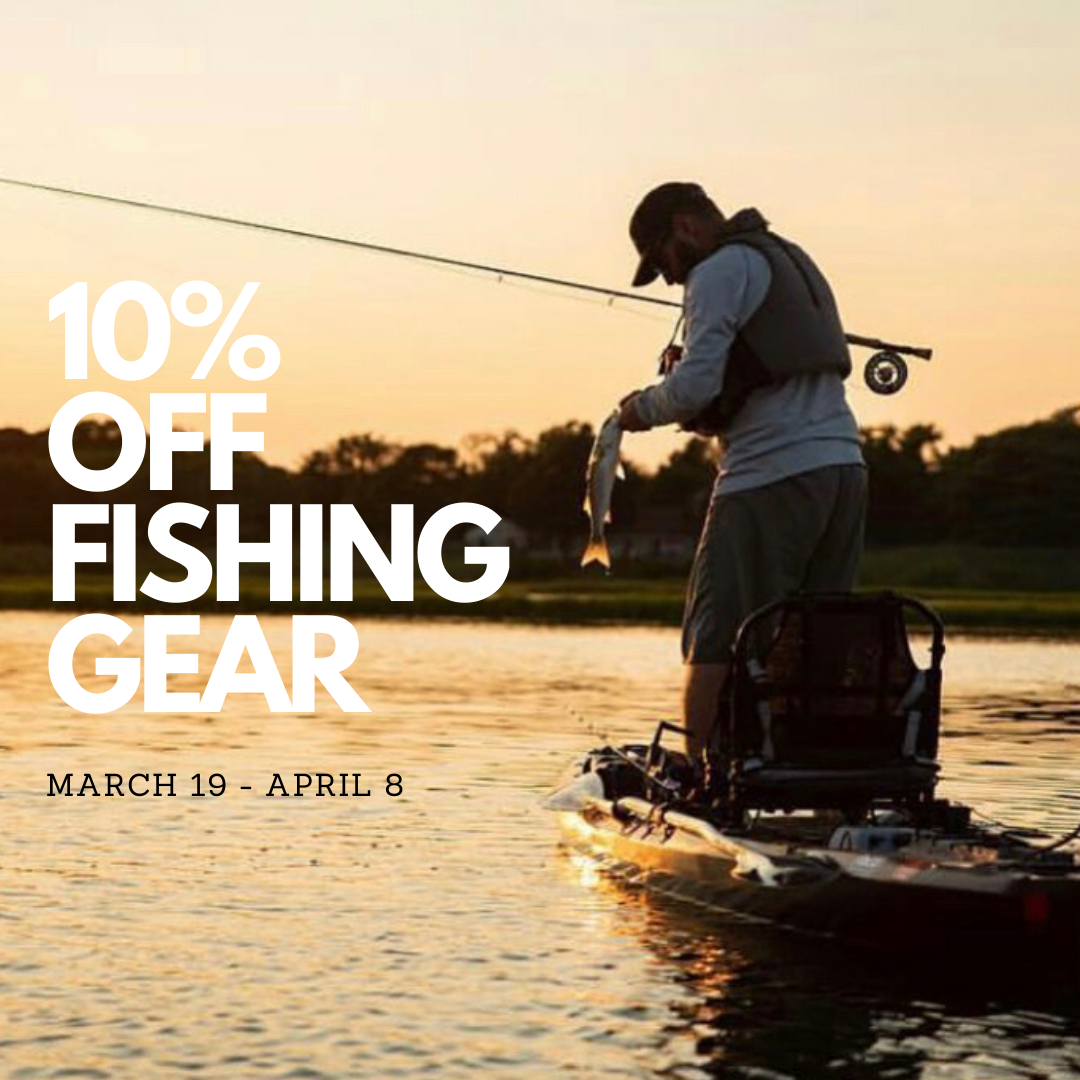 Cancelled Trade Show Season Sale!- 10% Off All Kayak Fishing Gear!