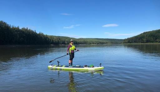 Pelican Rapids to the Grand Rapids SUP Expedition - Lisa Stocking