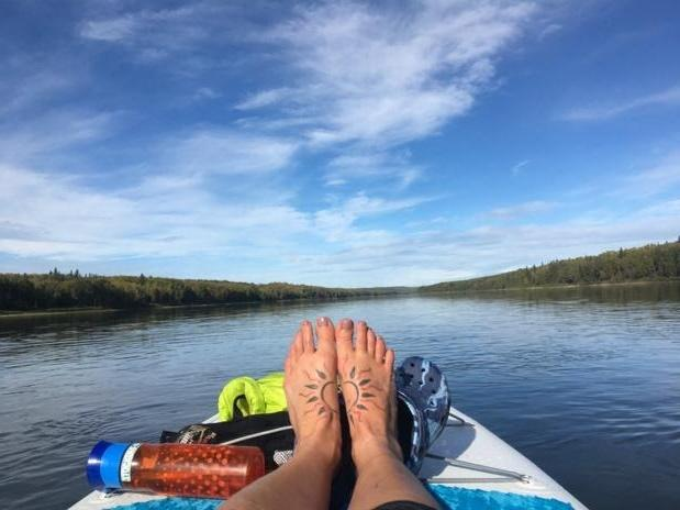 ATHABASCA, AB: PADDLE PARADISE CLOSER THAN YOU THINK